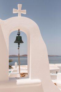 luxury boutique hotel in mykonos Alissachni church bell
