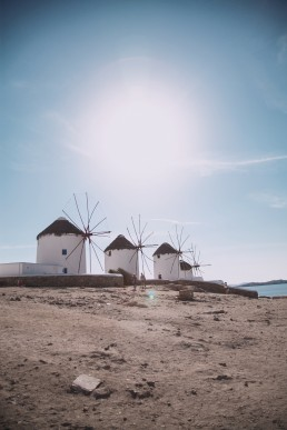 luxury boutique hotel in mykonos Alissachni windmills